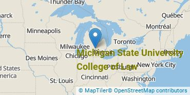 Location of Michigan State University College of Law