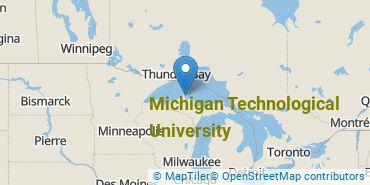 Location of Michigan Technological University