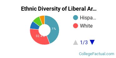Ethnic Diversity of Liberal Arts General Studies Majors at Mid - America Christian University
