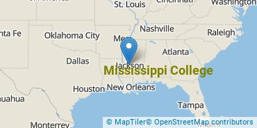 Location of Mississippi College