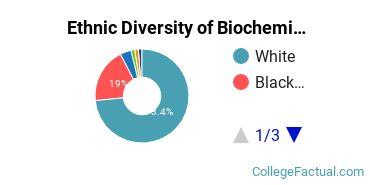 Ethnic Diversity of Biochemistry, Biophysics & Molecular Biology Majors at Mississippi State University