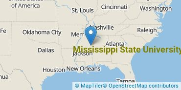 Location of Mississippi State University