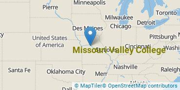 Location of Missouri Valley College