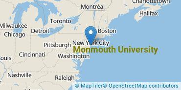 Location of Monmouth University
