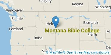 Location of Montana Bible College