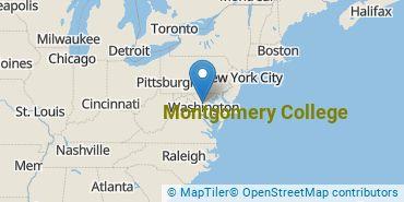 Location of Montgomery College