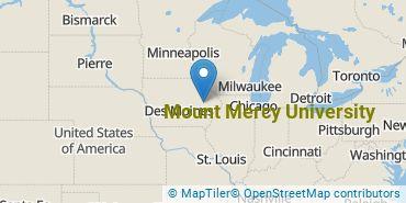 Location of Mount Mercy University