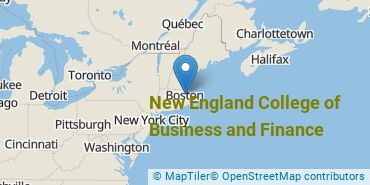 Location of New England College of Business and Finance