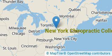 Location of New York Chiropractic College