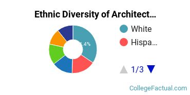 Ethnic Diversity of Architecture & Related Services Majors at New York Institute of Technology