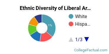 Ethnic Diversity of Liberal Arts General Studies Majors at New York University