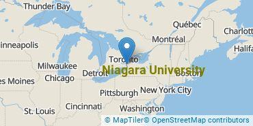 Location of Niagara University
