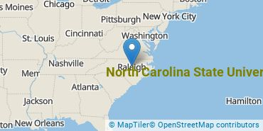 Location of North Carolina State University