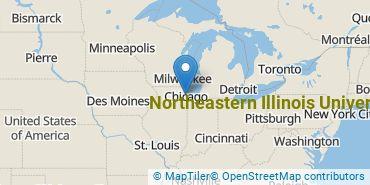Location of Northeastern Illinois University