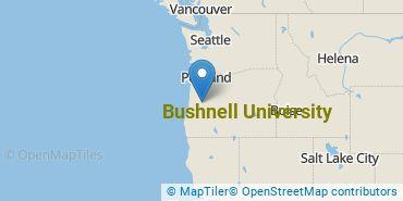 Location of Northwest Christian University