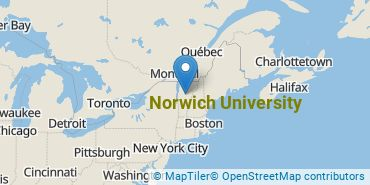 Location of Norwich University