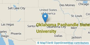 Location of Oklahoma Panhandle State University