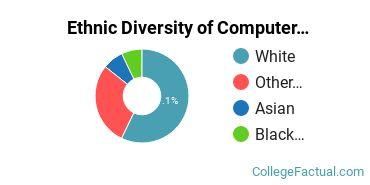 Ethnic Diversity of Computer Information Systems Majors at Oklahoma State University - Oklahoma City