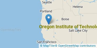 Location of Oregon Institute of Technology
