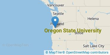 Location of Oregon State University