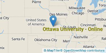 Location of Ottawa University - Online