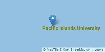 Location of Pacific Islands University