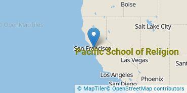 Location of Pacific School of Religion