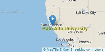 Location of Palo Alto University