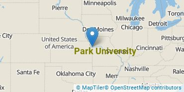 Location of Park University