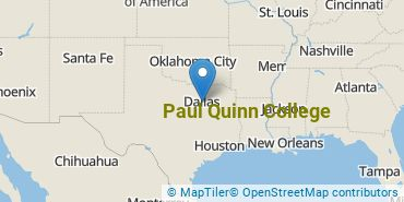 Location of Paul Quinn College