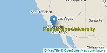 Location of Pepperdine University
