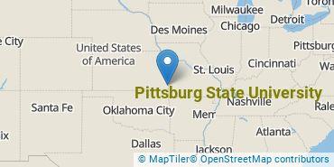 Location of Pittsburg State University