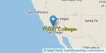 Location of Pitzer College