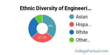Ethnic Diversity of Engineering Majors at Point Loma Nazarene University