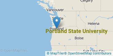 Location of Portland State University