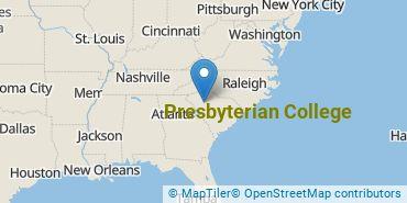 Location of Presbyterian College