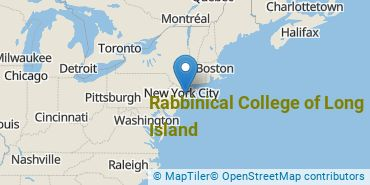 Location of Rabbinical College of Long Island
