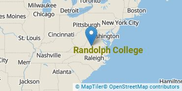 Location of Randolph College