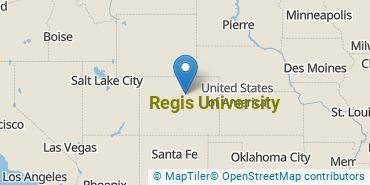 Location of Regis University