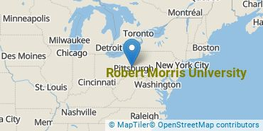 Location of Robert Morris University