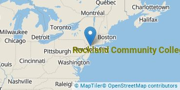 Location of Rockland Community College
