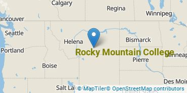 Location of Rocky Mountain College