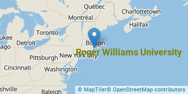 Location of Roger Williams University