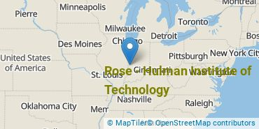 Location of Rose - Hulman Institute of Technology