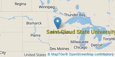 Location of Saint Cloud State University