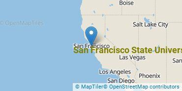 Location of San Francisco State University