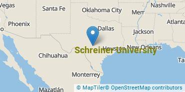 Location of Schreiner University