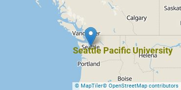 Location of Seattle Pacific University