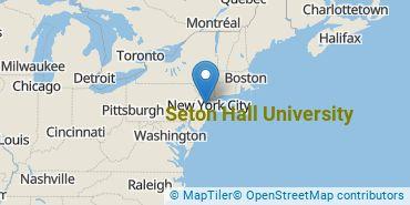 Location of Seton Hall University