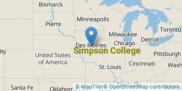 Location of Simpson College